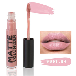 Cherry Blooms Matte Lips Volumizer - Nude Jen