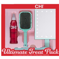 "CHI * Deal Ultimate Treat Pack (1""Iron + Brush + Mirror + Iron Guard)"