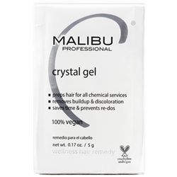 MALIBU/Crystal Gel Wellness Hair Remedy 0.17oz