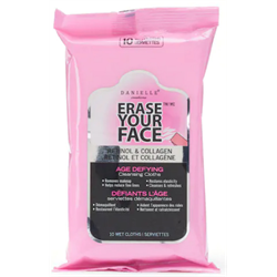 Upper Canada/ Erase Your Face Make Up Wipes (Age)