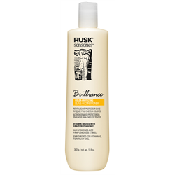 RUSK/Brilliance Leave-In Cream Cond 13.5oz