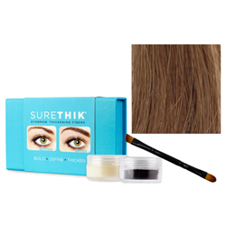 Sure Thik Eyebrow Thickening Fiber Kit - Sandy Blonde