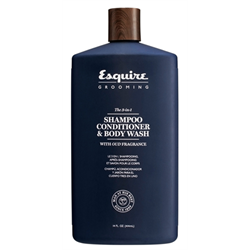 Esquire Grooming / The 3-in-1 Shampoo / Conditioner / Body Wash 14oz