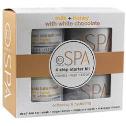 BCL 4 Step Starter Kit Mik+Honey w/White Chocolate (SPA54110)