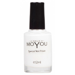 MOYOU/White Polish 12ml