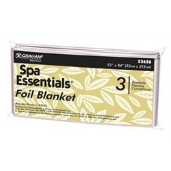 Spa/Spa Essentials Foil Thermal Blankets (3/pk) 53650-BC