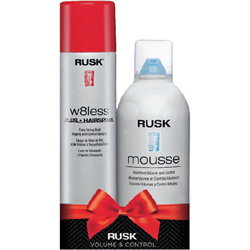 Rusk/Holiday W8less Gift Set (W8L+/Mousse)