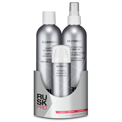 RUSK PRO Prepack/Haircare For Normal Hair (Cleanse/Restore/Restart)