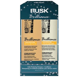 RUSK/Holiday*Brilliance Shampoo & Cream Conditioner Box