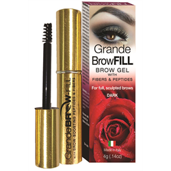 Grande BrowFILL Brow Gel Dark 4g