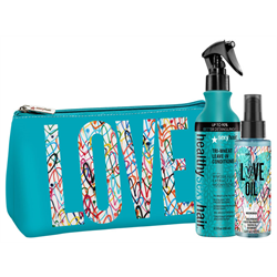 Sexyhair/Deal * HSH Duo w/Love Wall Bag (Tri-Wheat & Love Oil)