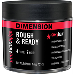 Sexyhair/SySH Dimension Rough & Ready Styling Gunk 4.4oz ***Discontinued