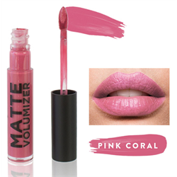 Spa/Cherry Blooms Matte Lips Volumizer - Pink Coral
