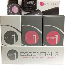 Entity/Entity One Essentials Trio (Nu Bond,Base Coat,Top Coat)