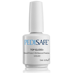 Pedisafe Top Gloss+ 15ml