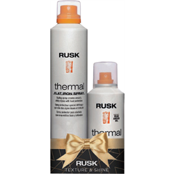 RUSK/Holiday*Thermal Flat Iron Spray/Shine Spray Duo