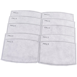 PPE/ Face Mask Disposable Filters 10pk (Ugly Duckling)