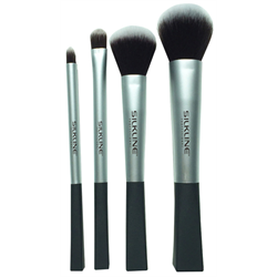 Spa/Silkline Make-Up Brush Kit 4pc (MKBRUSHESWGC)