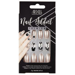 Ardell/Nail Addict Premium Artificial Nail Set-Champagne Ice (62115)