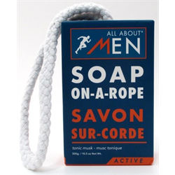 Upper Canada/ Men's Soap On A Rope (Active)