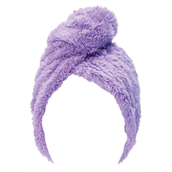 Upper Canada/ Turban Hair Towel (Purple)