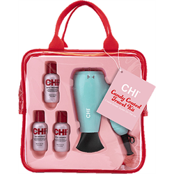 CHI * Deal Candy Coated Travel Kit (Travel Dryer + Mini Trio)