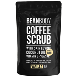 Bean Body Coffee Bean Scrub / Vanilla 220g