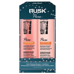 RUSK/Holiday*Pure Shampoo/Cond 13.5oz Gift Box