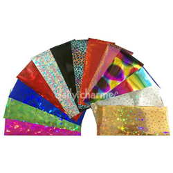 Spa/Nail Art Daily Charme Foil 100pk - Mixed