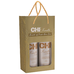 CHI * Deal Keratin Shampoo & Conditioner Liter Duo