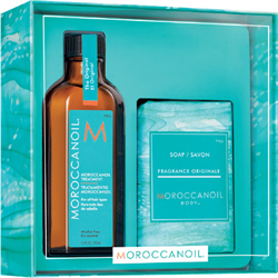 MOROCCANOIL Deal* Cleanse & Style Original (Treatment 100ml & Soap)