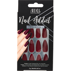 Ardell/Nail Addict Colored Artificial Nail Set - Bordeaux (63864)