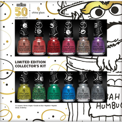 China Glaze Holiday 2019 'Sesame St 50yr ' 12pc Collector's Kit