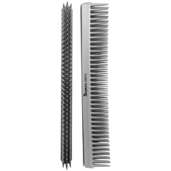 Comb / Denman 3 Row Comb Silver  (C012SILRC)***Discontinued