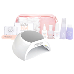 Zoya Naked Manicure Gelie-Cure Foundation Kit + 2-in-1 UV/LED Lamp