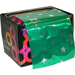 Foil/Framar 'GhettoFab Green Stars' 5.0 lb Roll Medium ***Discontinued