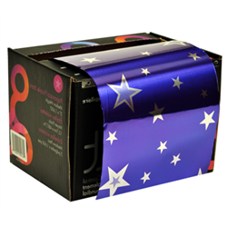 Foil/Framar 'Paparazzi Purple Stars' 5.0 lb Roll Medium