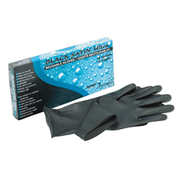 Gloves/BabylissPro Black Satin (5 pair) Small (BES33710SMC)