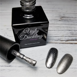 Ugly Duckling Gel Polish 0.5oz - #102 Platinum Collection
