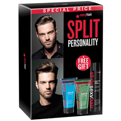 Sexyhair/Deal * Split Personality (Detox Sham/Hard Up/Not So Hard Up)