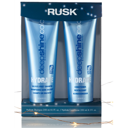 RUSK/Holiday*Deepshine Hydrate Shampoo/Cond 8.5oz Gift Box