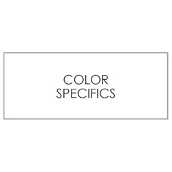 COLOR SPECIFICS