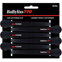 Clips / Babyliss Sectioning Clips Black 6/pk (BESPRO10UCC)