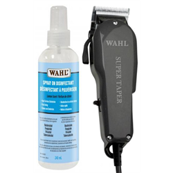 Wahl Clipper/Super Taper w/Disinfectant Spray #50288