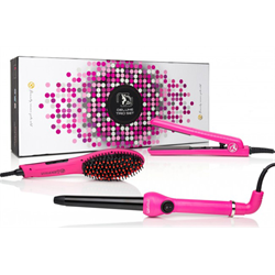 Brush/Royale Pro Straighten Deluxe Trio Set/Pink