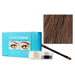 Sure Thik Eyebrow Thickening Fiber Kit - Light Brown