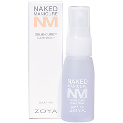 Zoya Naked Manicure Gelie-Cure Clear Shine 2oz