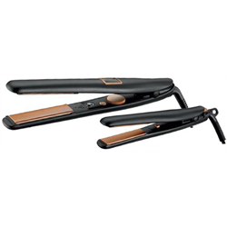 "RUSK/Deal*CTC Copper Str8 Iron Duo (1"" & Mini) IRECTCPP1"