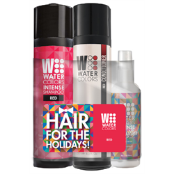 TR WColor Deal * Hair For The Holidays - Red
