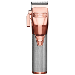 BabylissPro Metal Lithium Cord/Cordless Clipper ROSEFX (FX870RG)